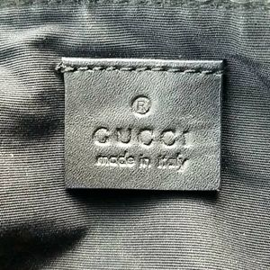 Gucci Bags - Auth GUCCI GG Canvas Leather Mini Hand Bag Italy